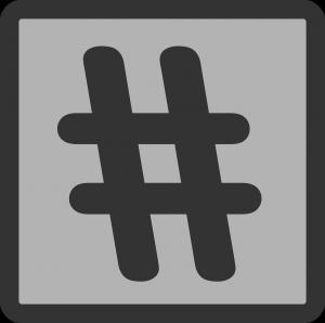 hashtag-27425_1280